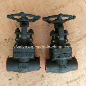 800lb 1500lb 2500lb Forged Steel A105 Thread NPT Gate Valve pictures & photos