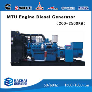 1000kw Mtu Engine Generator