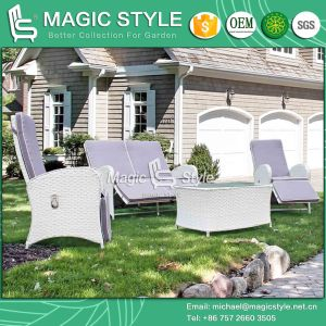 Wicker Relax Chair Rattan Relax Sofa Double Sofa Outdoor Furniture Garden Relax Chair Pneumatic Chair Patio Furniture (Magic Style) pictures & photos
