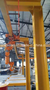 Elk 3ton CE Electric Chain Hoist Crane with Manual Trolley-3chains Lift for Mould pictures & photos