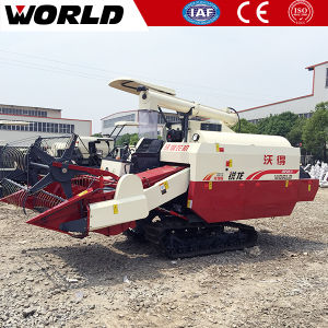 Rice Harvest Machine with Axial Flow Threshing System pictures & photos