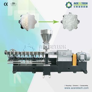 Twin Screw CaCO3 Masterbatch Compounding/Extruding/Pelletizing Machine pictures & photos