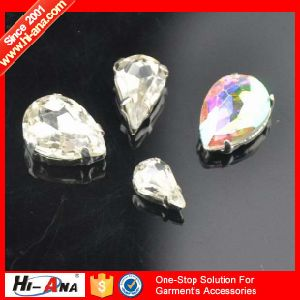 Familiar with Euro and Us Market Good Price Glass Rhinestone pictures & photos