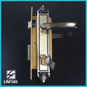 High Quality Brass Cylinder Security Door Handle Lock pictures & photos