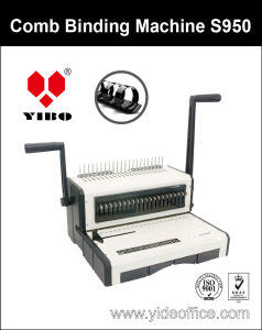 A4 Size Base Heavy Duty Comb Binding Machine S950 pictures & photos