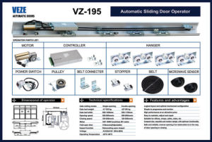 Heavy Automatic Slide Door Operators, Hermetic Door Operators pictures & photos