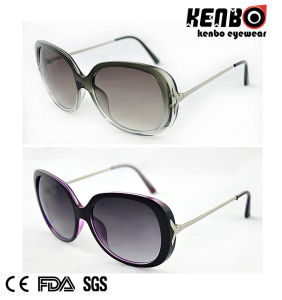 Hot Sale Fashion Sunglasses with Metal Temple for Lady CE, FDA, 100% UV Protection Kp50727 pictures & photos
