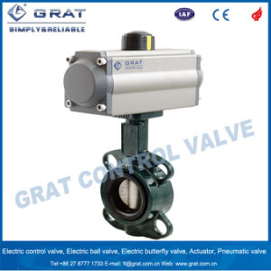 Pneumatic Control Wcb Butterfly Valve pictures & photos