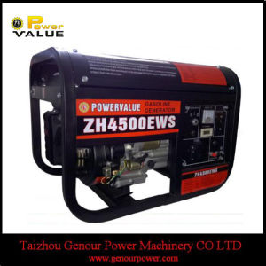 Gasoline Generator Square Frame with Big Battery Frame (ZH4500EWS) pictures & photos