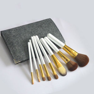 8PCS Professional Pony Hair Makeup Brushes