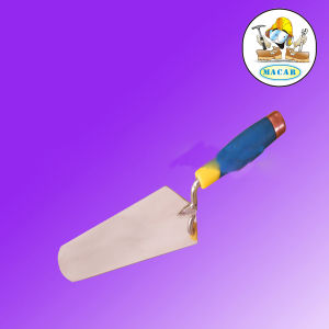 Painted Wooden Handle Stainless Steel Bricklaying Trowel