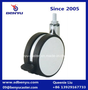 Customized Color 82mm Zinc Castor Wheel with Brake pictures & photos