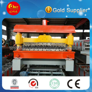 Tensile Thin Barrel Tile Corrugated Sheet Panel Roll Forming Machine pictures & photos