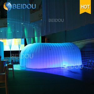 LED Events Party Wedding Decoration Marquee Military Dome Inflatable Wall Tent House pictures & photos