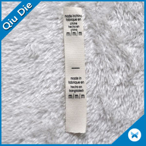 Eco-Friendly Cotton Screen Printing Clothes Labels pictures & photos