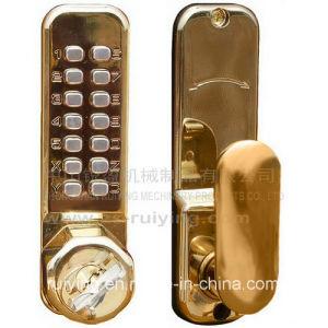 Furniture Hardware Zinc Alloy Mortise Lock (3700PB)
