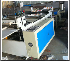 Automatic Pneumatic Loading Paper Roll Slitting and Cross Cutting Machine (DC-HQ) pictures & photos