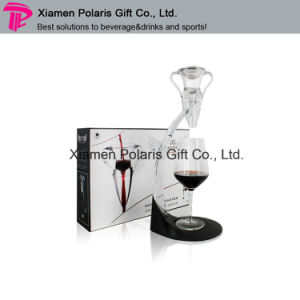 Trophy Shape Plastic Whiskey Wine Aerator Decanter Set pictures & photos