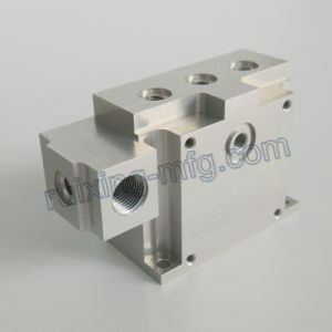 High Precision Aluminum Machining Block for Instruments and Meters Accessories