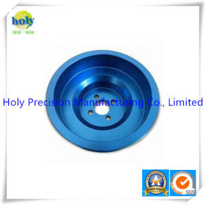 CNC Machining Factory OEM Mechanical Parts with Blue Anodizing pictures & photos