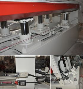 Hot Press Machine Type and New Condition Short Cycle Melamine Laminating Hot Press Machine pictures & photos