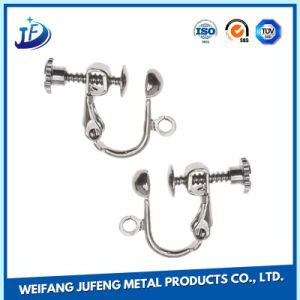 OEM Sheet Fabrication Zinc Plate Stamping Metal Paper Clip for Car Auto Parts pictures & photos