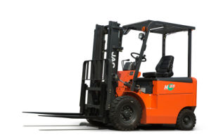 2.5t Orange Electric Forklift Truck Equipment JAC Forklift pictures & photos