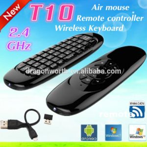 T10 C120 Air Mouse 2.4GHz Wireless Keyboard Remote Control pictures & photos