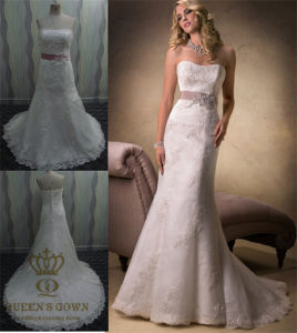 Ball Gown Bridal Gowns Real Pictures of Wedding Dress pictures & photos