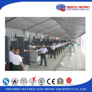 Pass through metal detector to detector contraband in event, stadiums pictures & photos