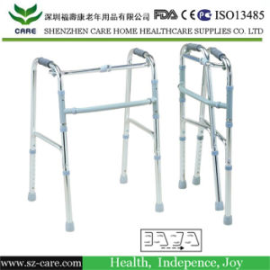Reciprocating Aluminium Alloy Foldable & Height Adjustable Walker pictures & photos