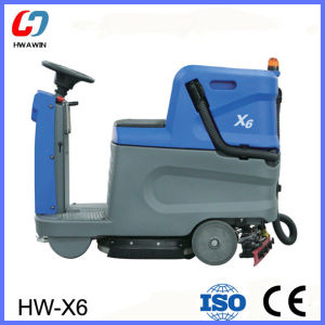Ce Approved Scrubber Machine Floor Scrubber (HW-X6) pictures & photos