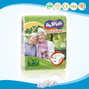 Good Quality Cotton Soft Disposable Baby Adult Diaper pictures & photos