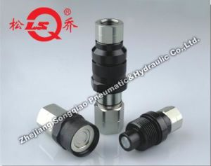 Lsq-Vep Flat Face Thread Locked Type Hydraulic Quick Coupling (steel) pictures & photos