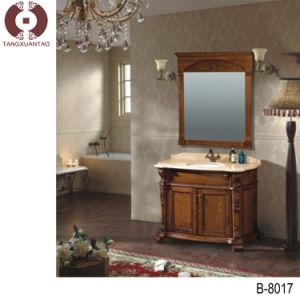 Fashion Wooden Bathroom Cabinet Bathroom Designs (B8017) pictures & photos