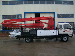 21m Hydraulic Concrete Placing Boom Truck with Remote Control pictures & photos