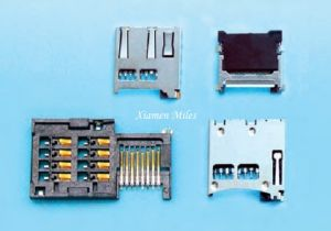 Molex SIM Card Connector with Drawer for POS Terminal pictures & photos