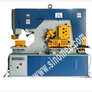 Hydraulic Ironworker Shearing and Punching Machine Q35y-20 pictures & photos
