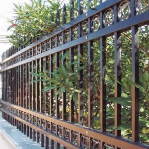 High Quality Hot-DIP Galvanization (HDG) Black Iron Fence