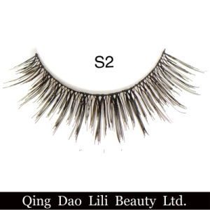 Lili Beauty Wholesale Factory Price 3D False Eyelashes 5 Pairs Synthetic Fiber Fake Lashes Private Label pictures & photos
