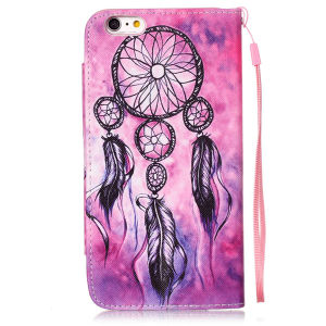 Colored Drawing Leather Case Cell Phone Flip Cover for iPhone pictures & photos