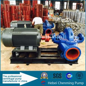 Centrifugal High Pressure Axially Split Case Double Suction Water Pump pictures & photos