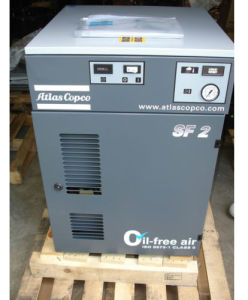 Atlas Scroll Oil Free Air Compressor pictures & photos