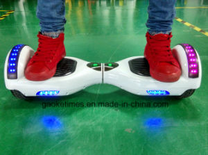 M011 White 6.5 Inch 44000mAh Hoverboard with Bluetooth/LED Light/Remote