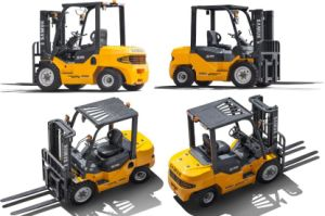 Gasoline LPG Forklift Truck 1.5ton pictures & photos