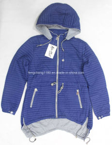 Women′s Spring/Autumn Light Jacket with Hoody pictures & photos