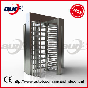 Factory Price RS232 Interface High Quality CE Approved Stainless Steel Access Turnstile Gate (A-TF204+)