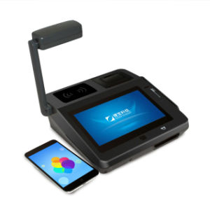 Touch Screen POS Machine with Barcode Scanner pictures & photos