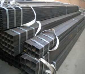 Black Annealing Hollow Section Square Steel Pipe Color pictures & photos
