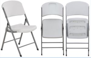 HDPE Blow Moulding Portable Plastic Folding Chair pictures & photos